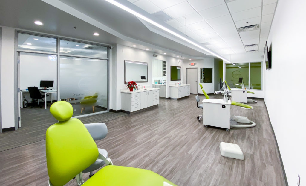 Embrace Orthodontics office